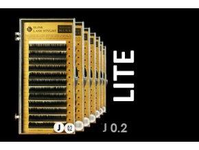 LITE řasy zakřivení J 0,20 extra lehké (Délka 12 mm)