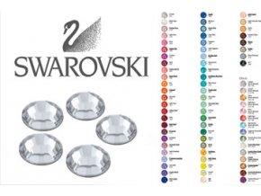 Kamínky Swarovski balení 25 kusů (Odstín Metallic light gold)