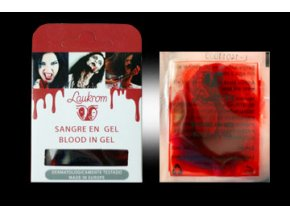 Umělá krev gel