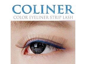 Coliner řasy (Odstín modré typ B)