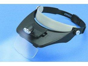 Brýle zvětšovací s LED osvětlením