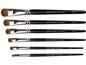 Petr Lukeš Professional modelační štětec na oči/ rty červená kuna (Odstín číslo 6)