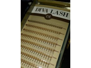 DIVA ROOTHLESS Volume BROWN 3D MIX / D 0,07