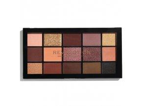 Makeup Revolution paletka očních stínů - velvet rose