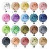 Náhradní náplň do palety OČNÍ STÍN- KULATÝ - StageLine Barcelona (Odstín 20 - středně zemitá perleť)