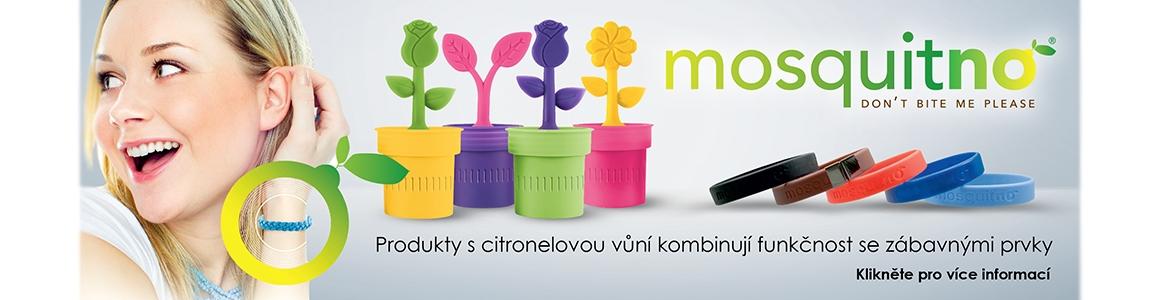 Produkty proti komárům MosquitNo