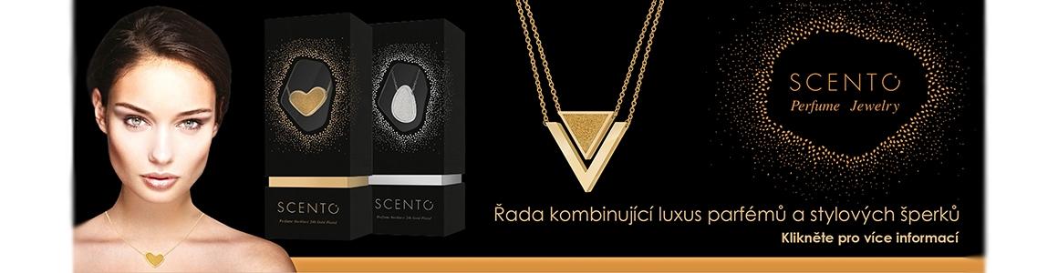 Parfémované náhrdelníky Scento