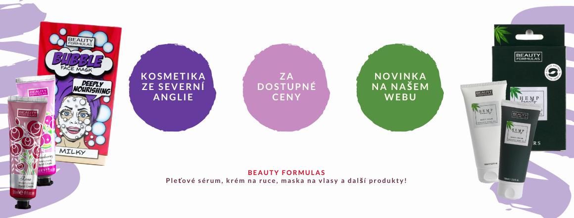 Novinka na e-shopu - kosmetika Beauty Formulas