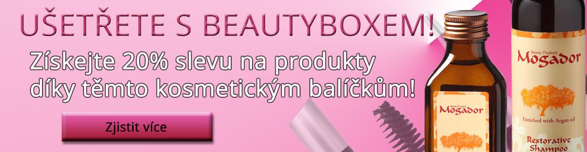 Kosmetický balíček BeautyBox