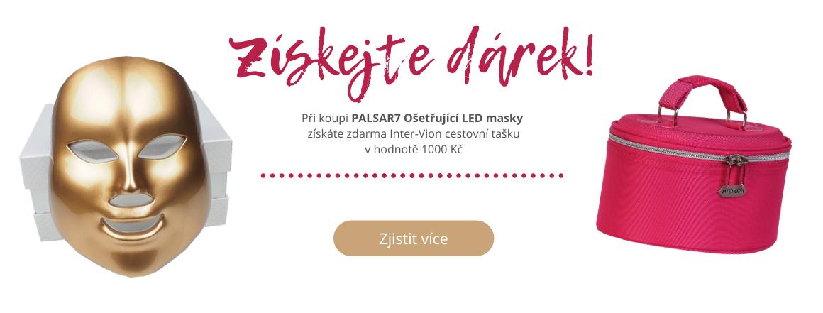 Dárek k nákupu Palsar7 LED Mask