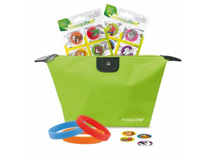 Travelbag 3Bracs 2xclips 2x6stickers animal 650x650 beautybox.cz