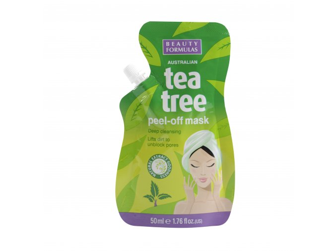 88532.Beauty Formulas Australian Tea Tree Peel Off Mask 50ml