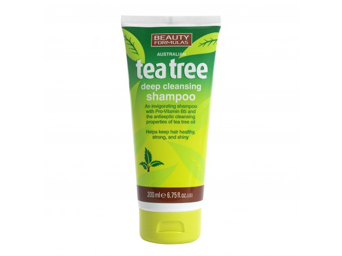 88350.Beauty Formulas Australian Tea Tree Deep Cleansing Shampoo 200ml