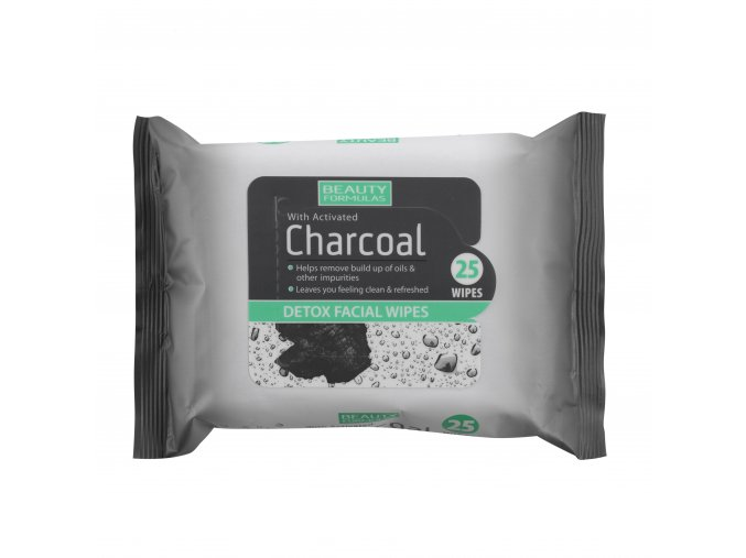 88579.Beauty Formulas Charcoal Face Wipes