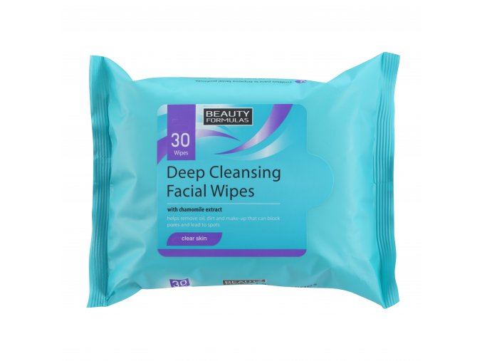 88239.Beauty Formulas Deep Cleansing Facial Wipes