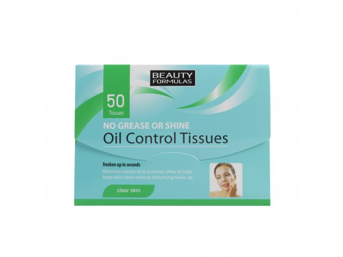 88164.Beauty Formulas Oil Control Tissues 50 tissues