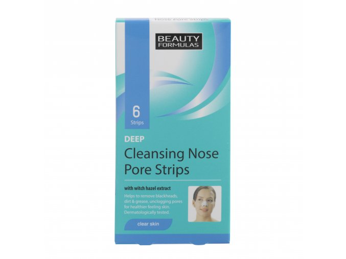 88167.Beauty Formulas Deep Cleansing Nose Pore Strips 6 Strips