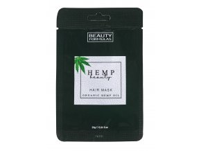 88642 Beauty Formulas Hemp Beauty, Hair Mask, Organic Hemp Oil (24g)
