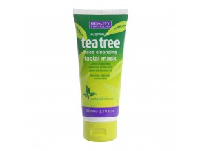 88352.Beauty Formulas Australian Tea Tree Deep Cleansing Facial Mask 100ml