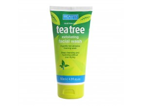 88351.Beauty Formulas Australian Tea Tree Exfoliating Facial Wash 150ml