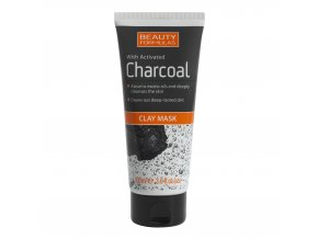 88553.Beauty Formulas Charcoal Clay Mask 100ml