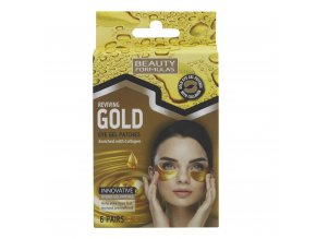88612.Beauty Formulas Gold Eye Gel Patch 6's