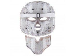 PALSAR7 Ošetřující LED maska na obličej a krk (zlatá)