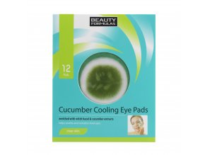88169.Beauty Formulas Cucumber Cooling Eye Pads 12 Pads