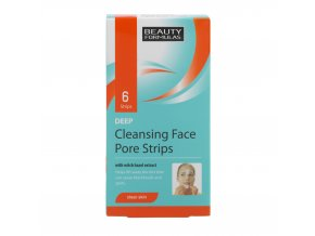 88233.Beauty Formulas Deep Cleansing Face Pore Strips 6 Sachets