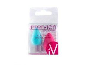 INTER VION Mini kosmetické houbičky na make up 3D