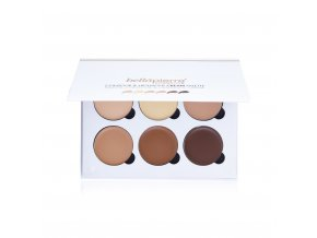 bellapierre contour highlight cream palette open