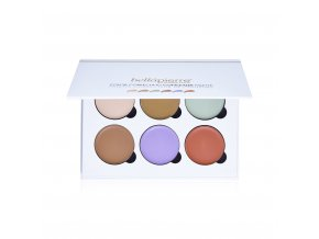 bellapierre color correcting concealer palette open 2
