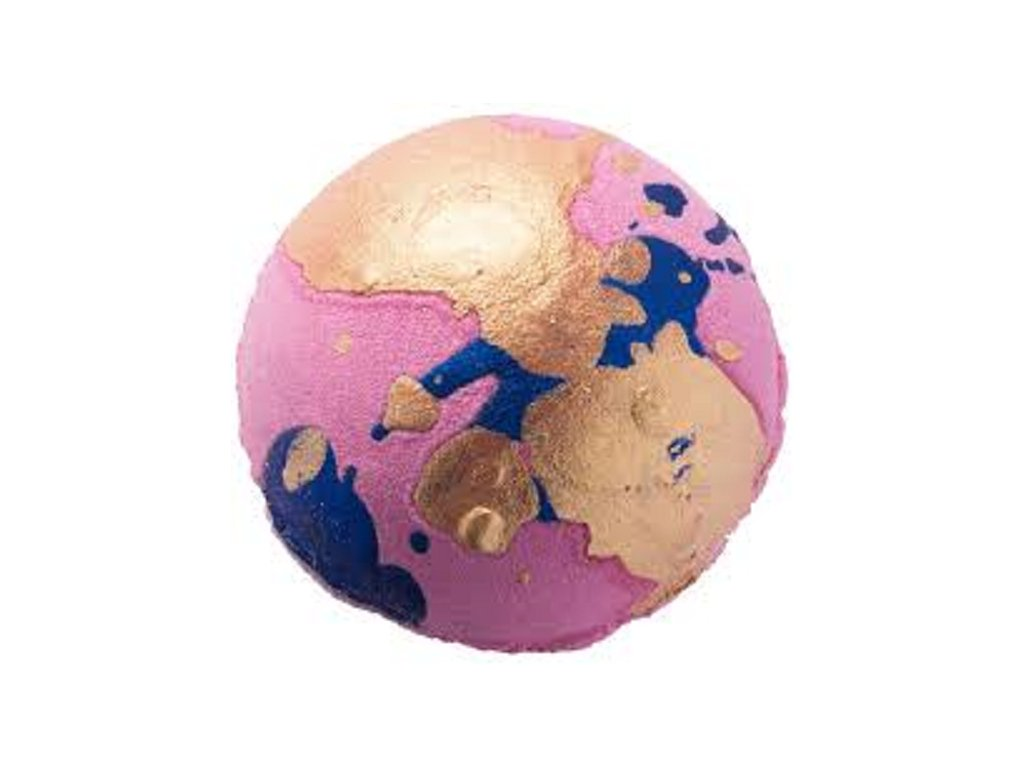 Bomb Cosmetics Gold of Pleasure bomba do kúpeľa, 160g