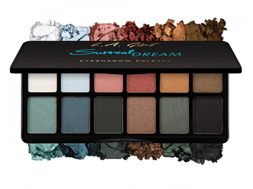 La Girl Cosmetics Fanatic Eyeshadow palette Surreal Dream paletka očných tieňov
