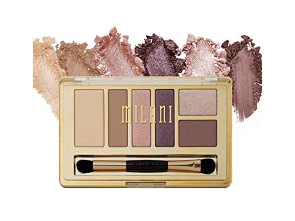 Milani Everyday Eyes Collection paletka očných tieňov Plum Basics