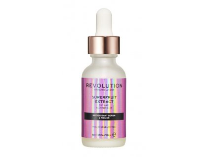 Revolution Skincare Superfruit Extract Pleťové sérum a primer s antioxidantmi, 30ml