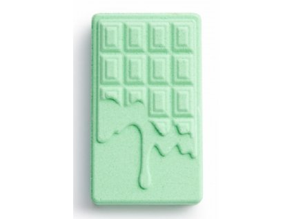Revolution Chocolate Bar Bath Fizzer Mint, bomba do kúpeľa, 110g