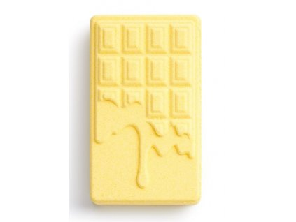 Revolution Chocolate Bar Bath Fizzer Vanilla, bomba do kúpeľa, 110g