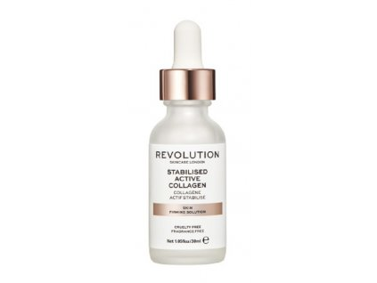 Revolution Skincare Stabilised Active Collagen, pleťové sérum s kolagénom, 30ml