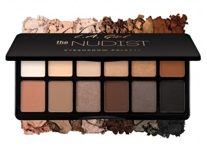 La Girl Cosmetics Fanatic Eyeshadow palette The Nudist paletka očných tieňov