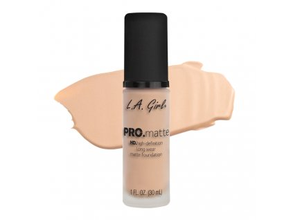 La Girl Pro Matte Foundation zmatňujúci make-up Porcelain
