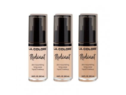 La Colors Radiant tekutý make-up pre suchú pleť