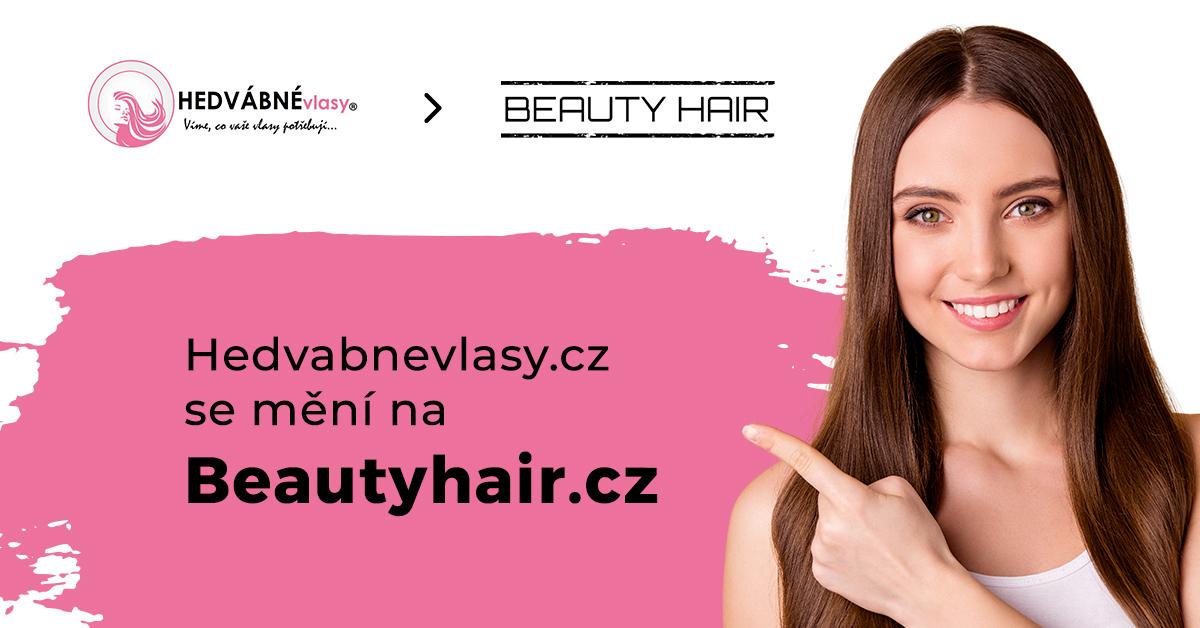 Hedvabnevlasy.cz se změnily Beautyhair.cz