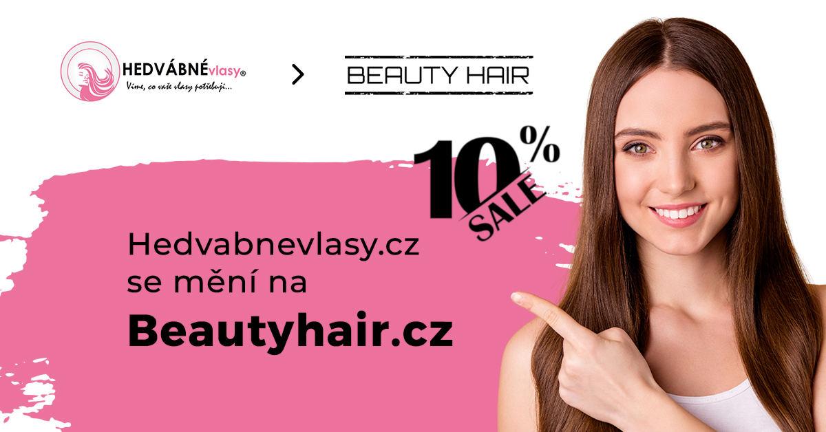 Hedvabnevlasy.cz se mění na Beautyhair.cz