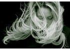 Blond a melírované vlasy