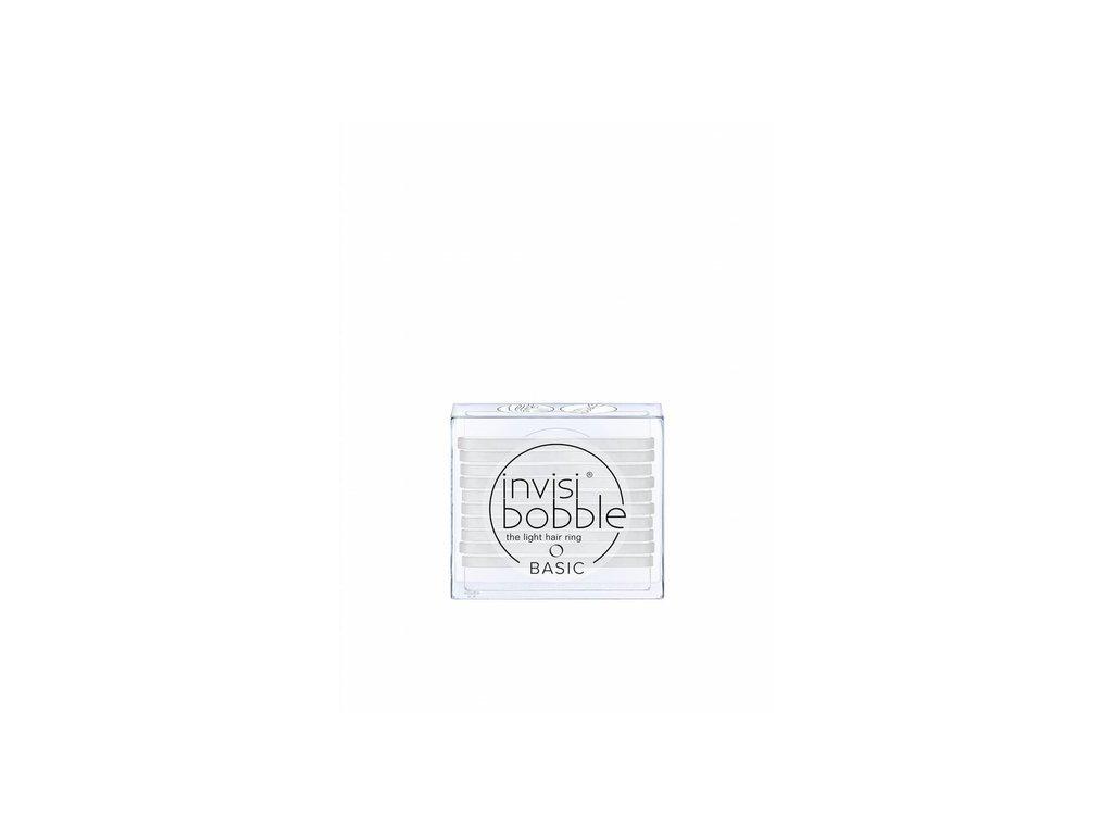 Invisibobble® BASIC Crystal Clear - gumička na vlasy 10ks