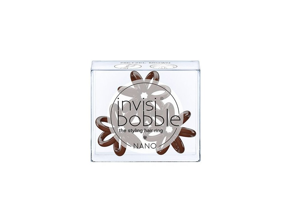 Invisibobble® NANO Pretzel Brown