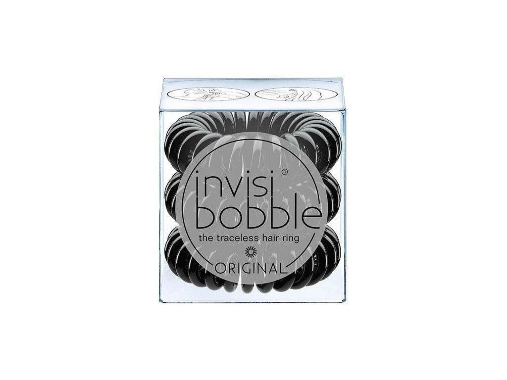 Invisibobble® ORIGINAL True Black - vlasová gumička