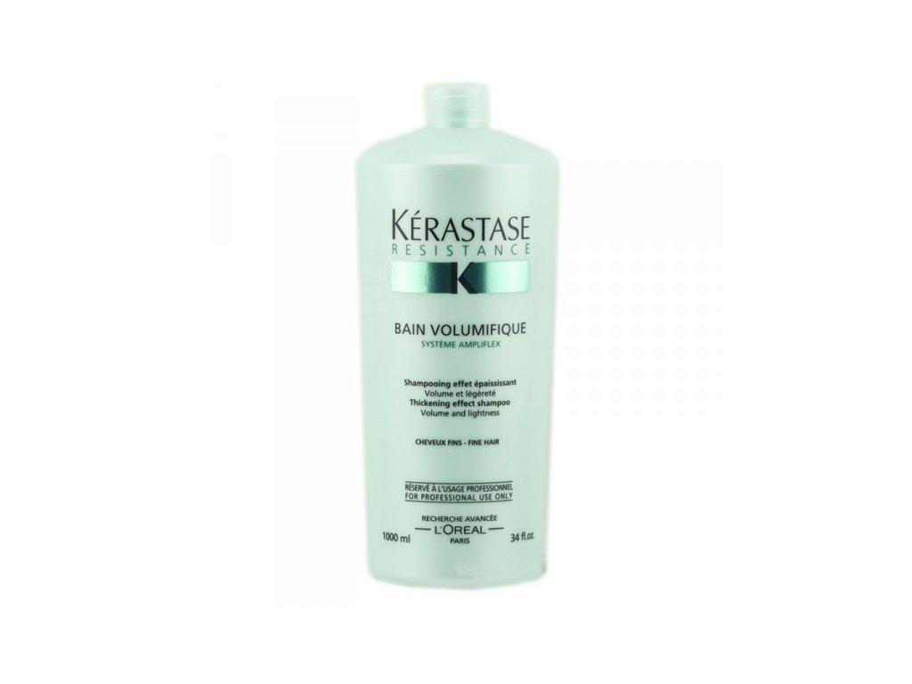Kérastase Résistance Bain Volumifique - šampon pro objem jemných vlasů (1000 ml)