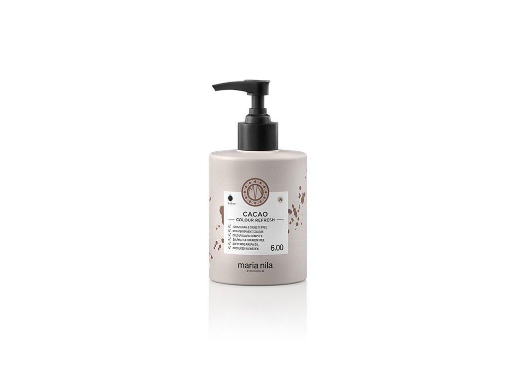 Maria Nila Colour Refresh Cacao 6.00 300 ml  + Jednorázové rukavice na barvení zdarma + Vzorek šamponu Maria Nila